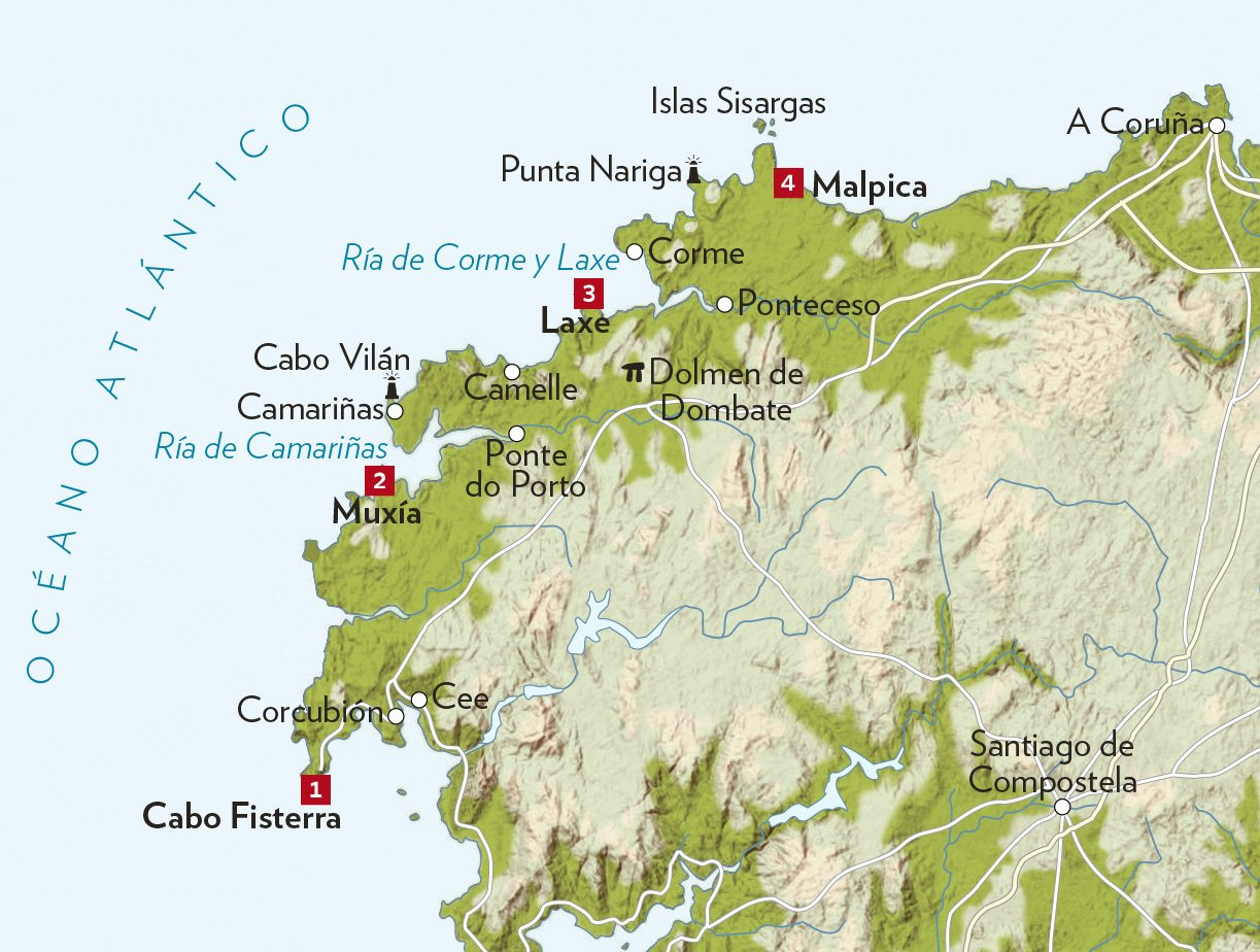 Viaje Por La Costa Da Morte Galicia