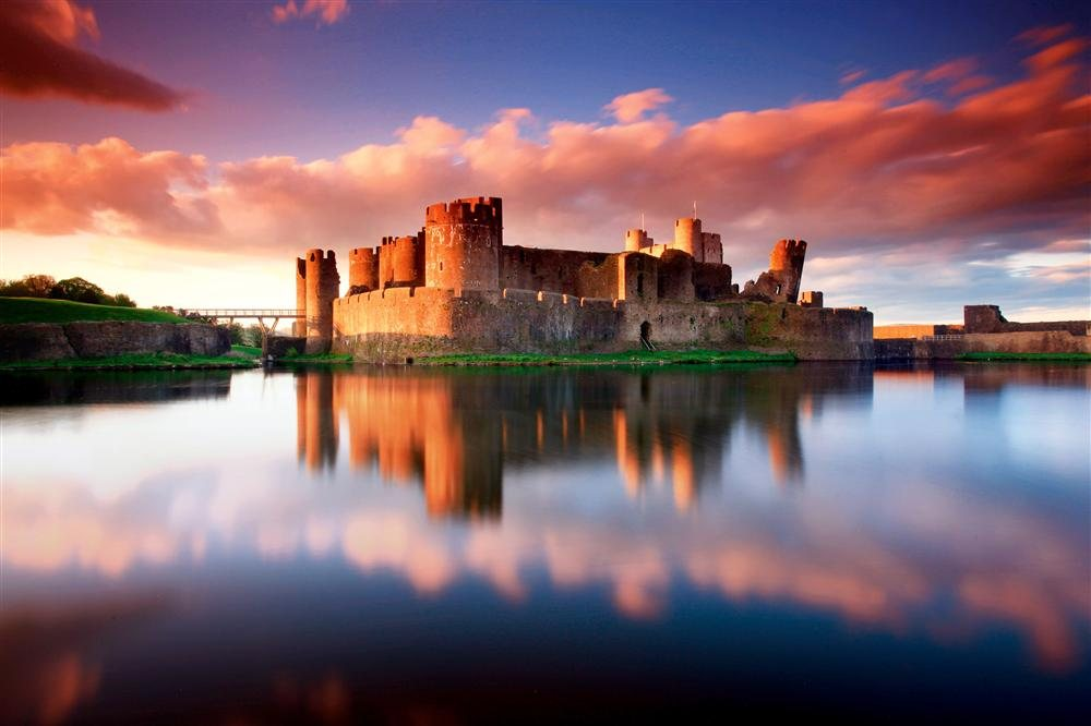 UK - Wales. Caerphilly