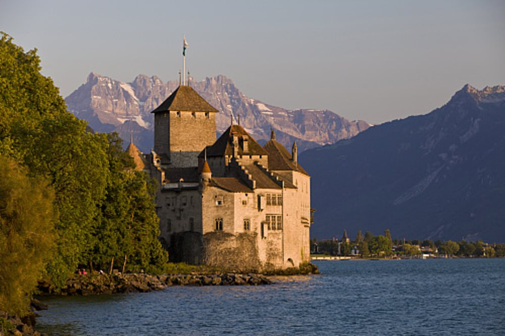 Castillo de Chillon, Suiza.