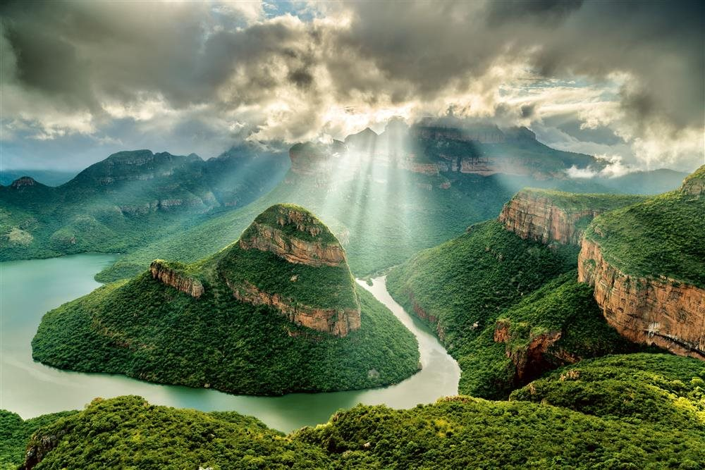 Burstein BlydeRiverCanyon Sunrise ok. Cañón del Río Blyde