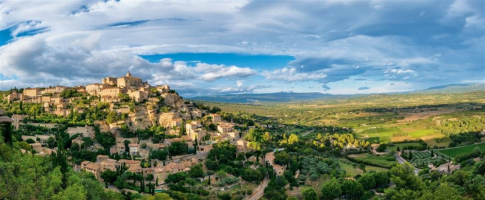 gordes-pano photo-marc-haegeman. Gordes