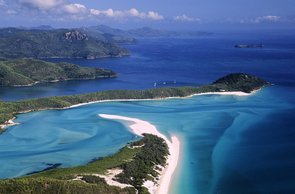 Islas Whitsunday. Asutralia