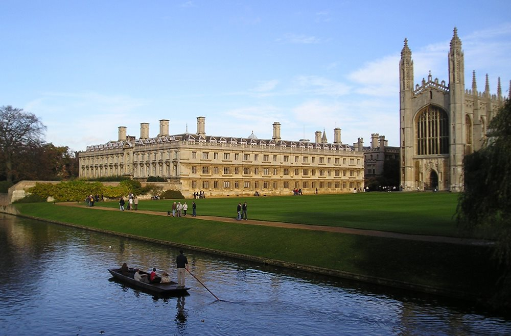 Cambridge. Gran Bretaña.