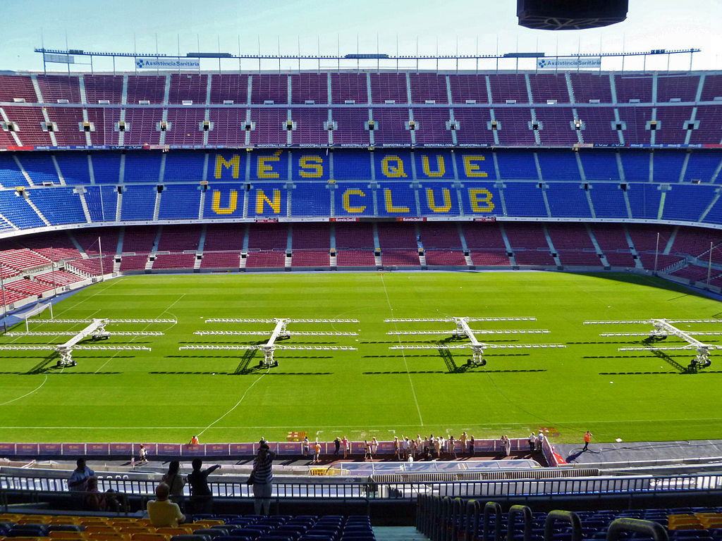 6. Camp Nou Stadium, Barcelona