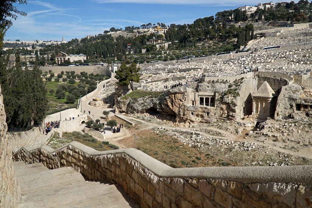 Jerusalem,-Mount-of-Olives-. Monte de los Olivos