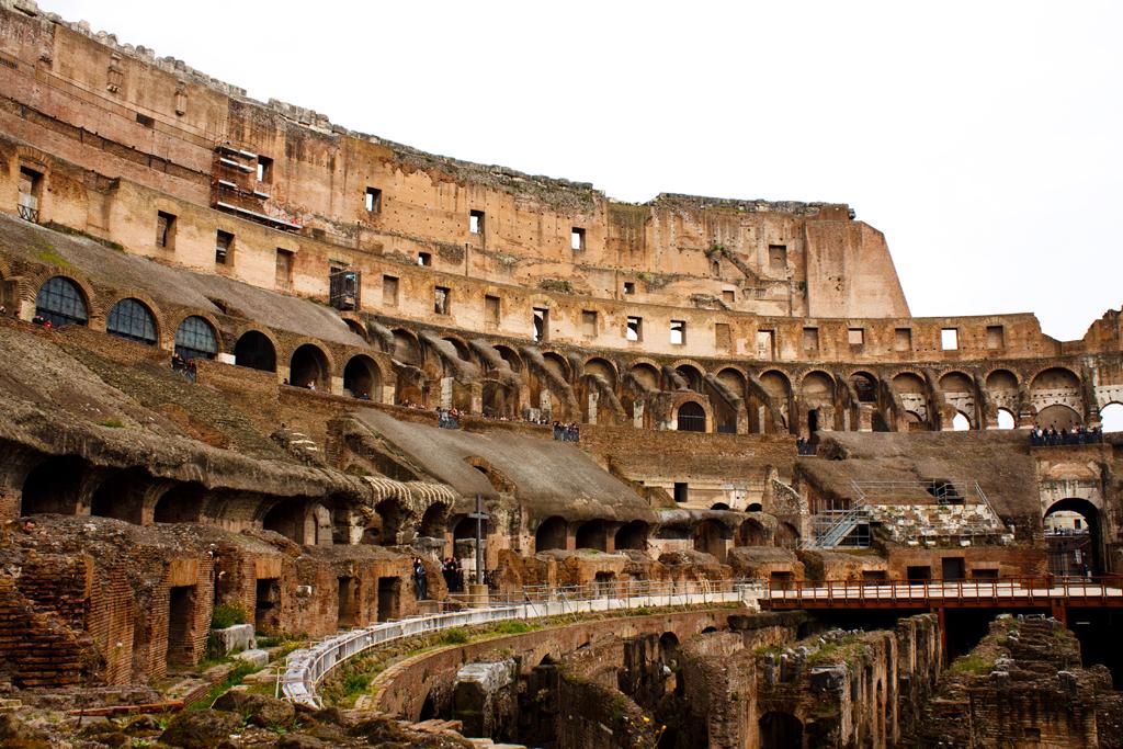 El Coliseo De Roma Inaugura Una Exposición Sobre Su Historia