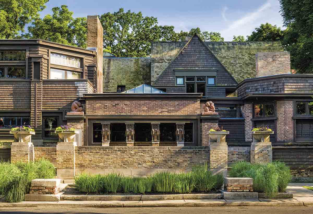 DW9TCF. Casa-estudio en Oak Park, Chicago