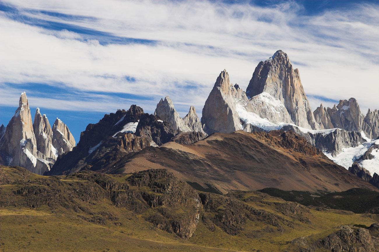 Fitz Roy. Monte Fitz Roy, Patagonia