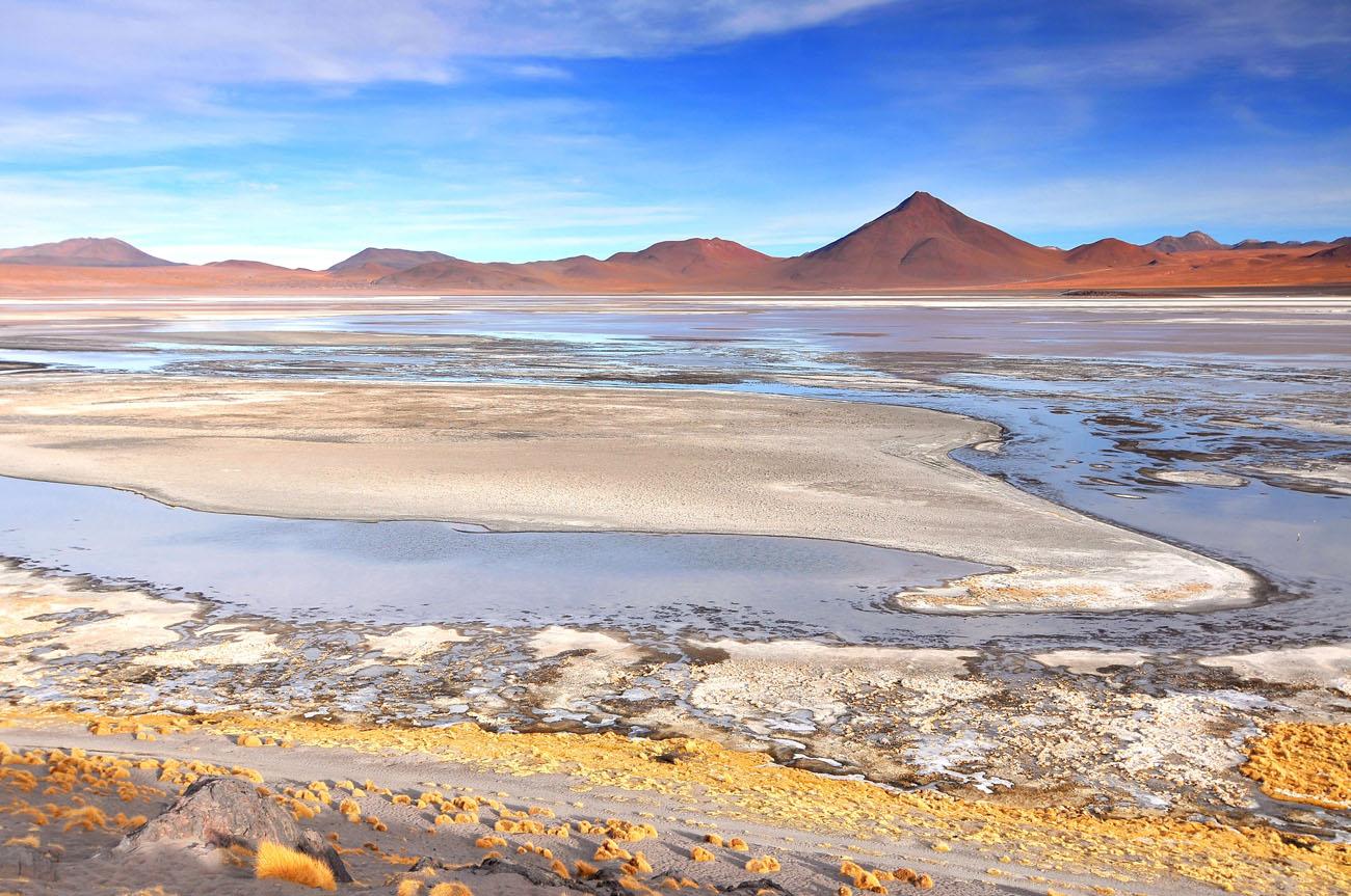 Laguna Colorada. Laguna Colorada, Bolivia