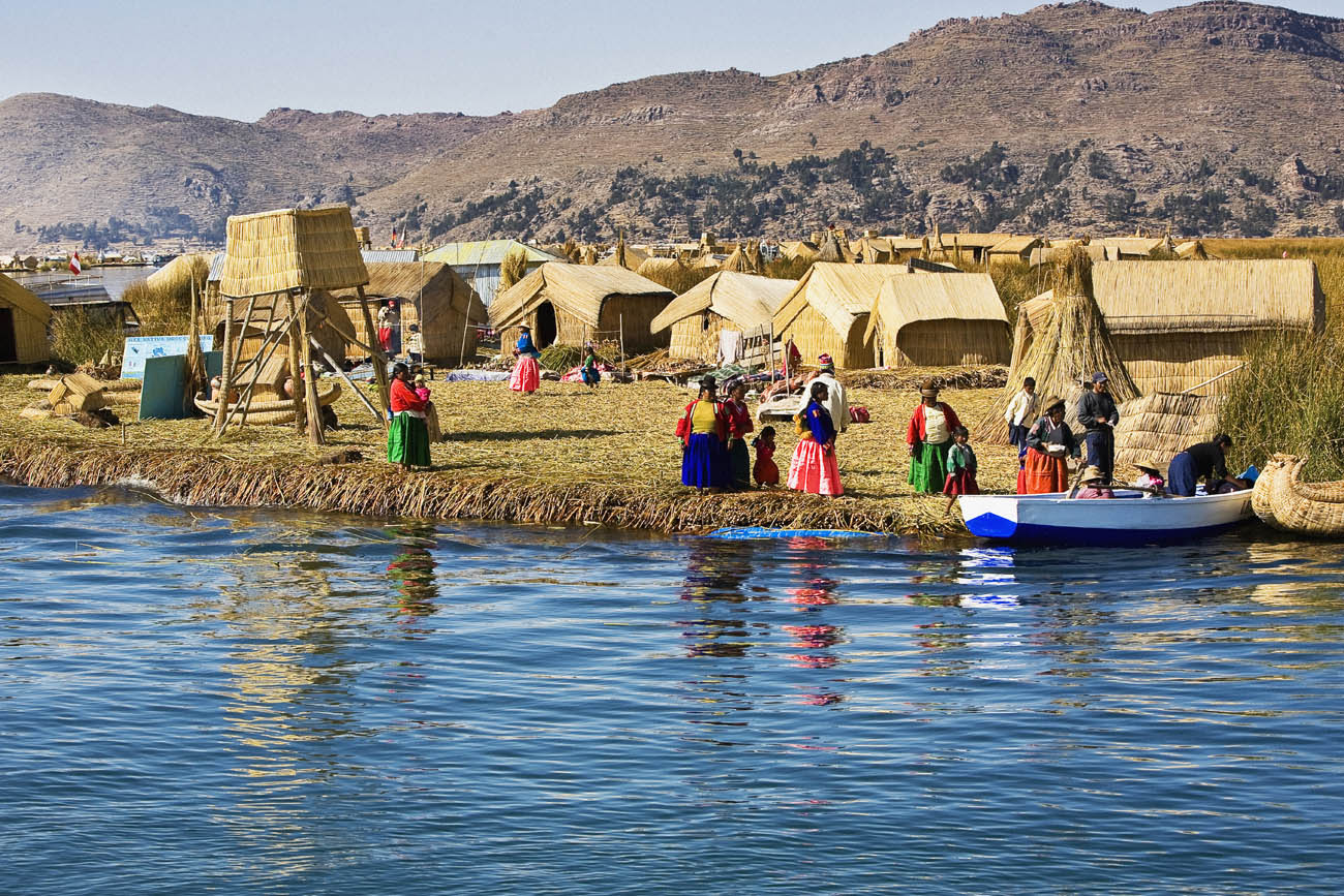 Titicaca. Lago Titicaca