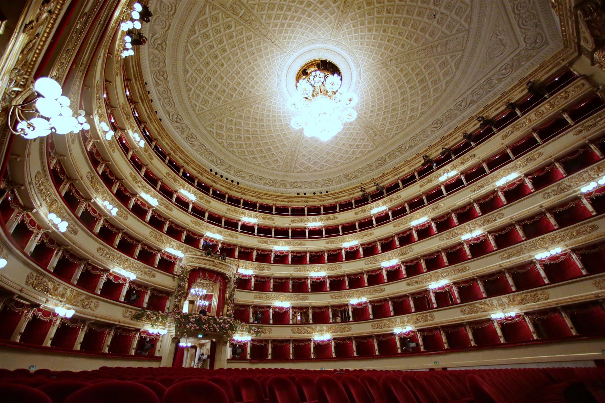 La Scala, Milán (Italia)