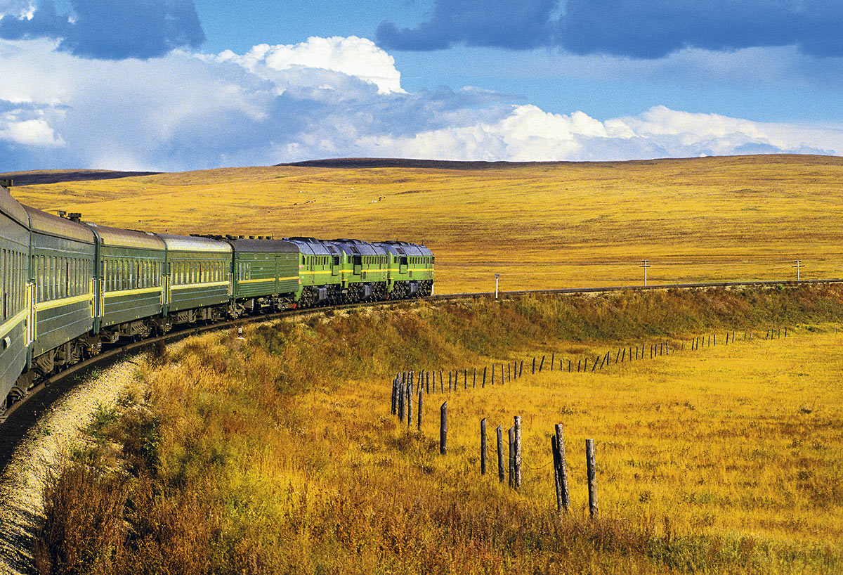 transiberiano-linia-tren. Desde Europa hasta Asia