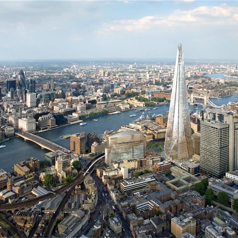 Torre Shard, el mirador más alto de Europa occidental