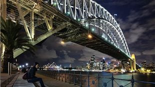 Sydney Harvour Bridge. Sidney