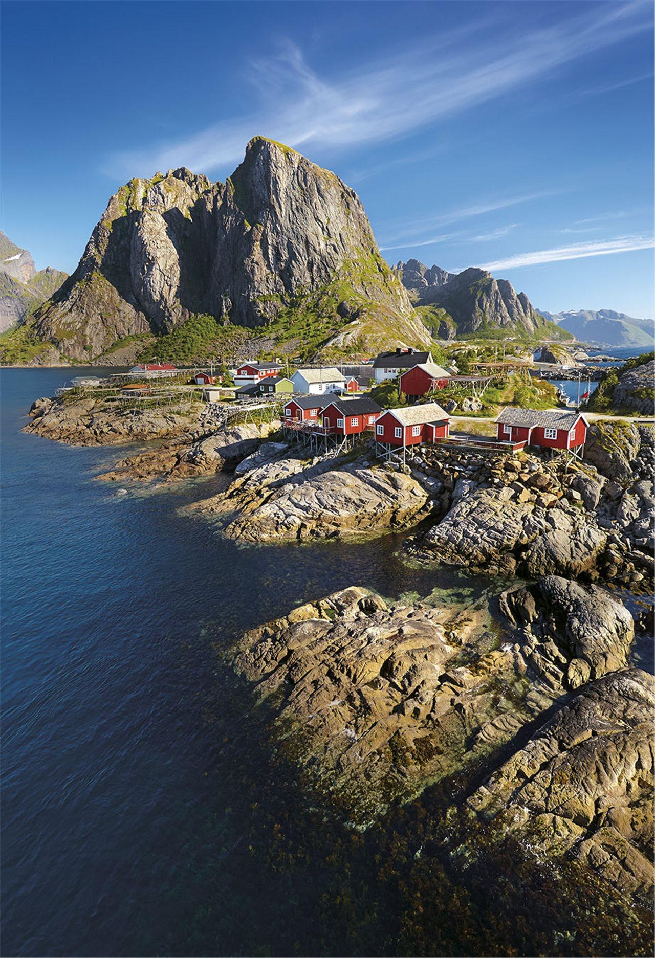hermosa casa de bacalao de cabo Islas Lofoten La Magia De Los Paisajes Rticos De Noruega