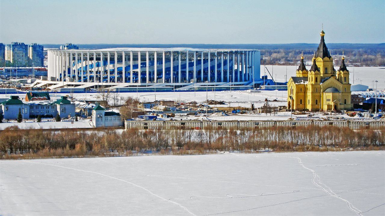 Nizhny Novgorod Stadium (March 2018) CC