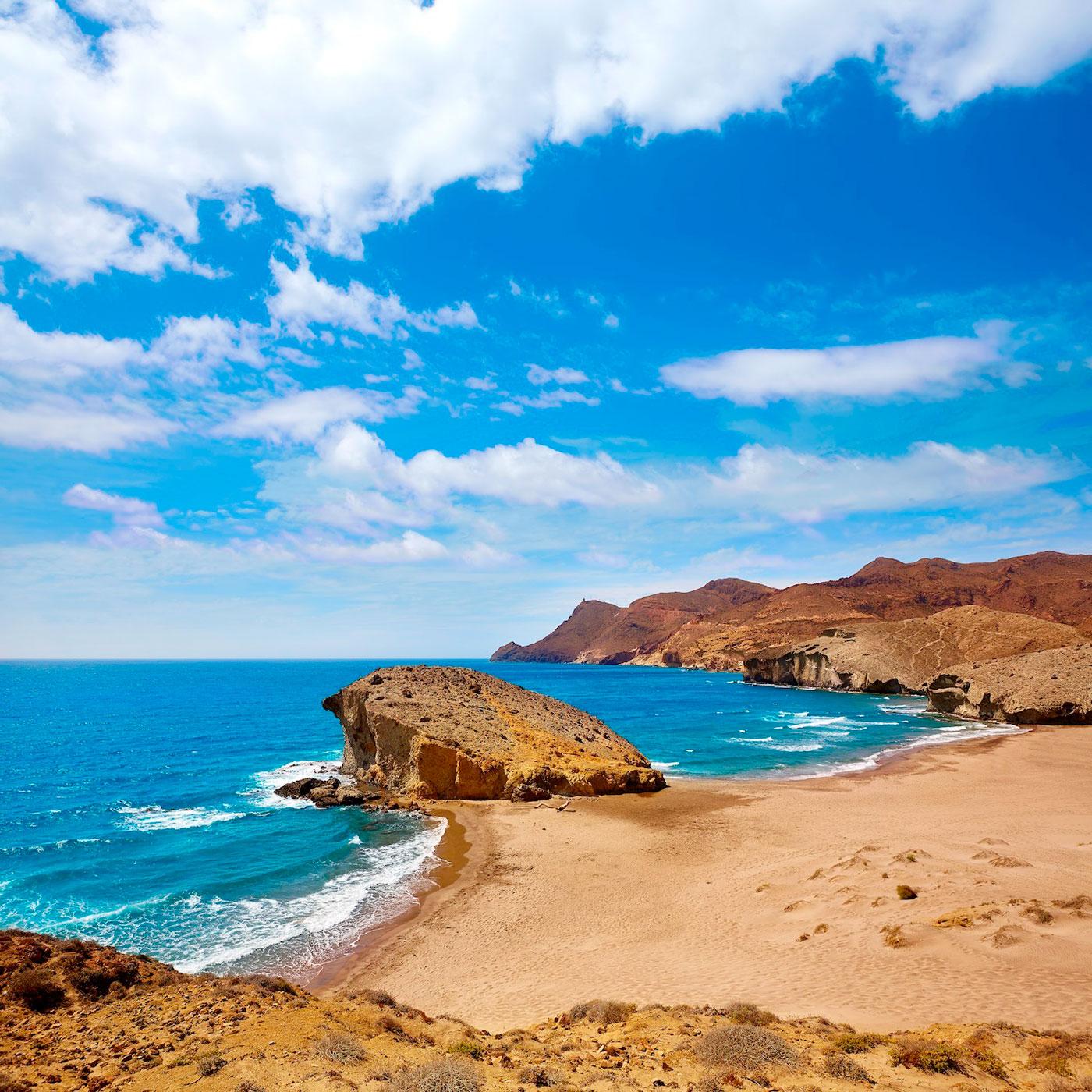 playa-monsul-almeria. Playa de Mónsul, Almería - Indiana Jones y la última cruzada