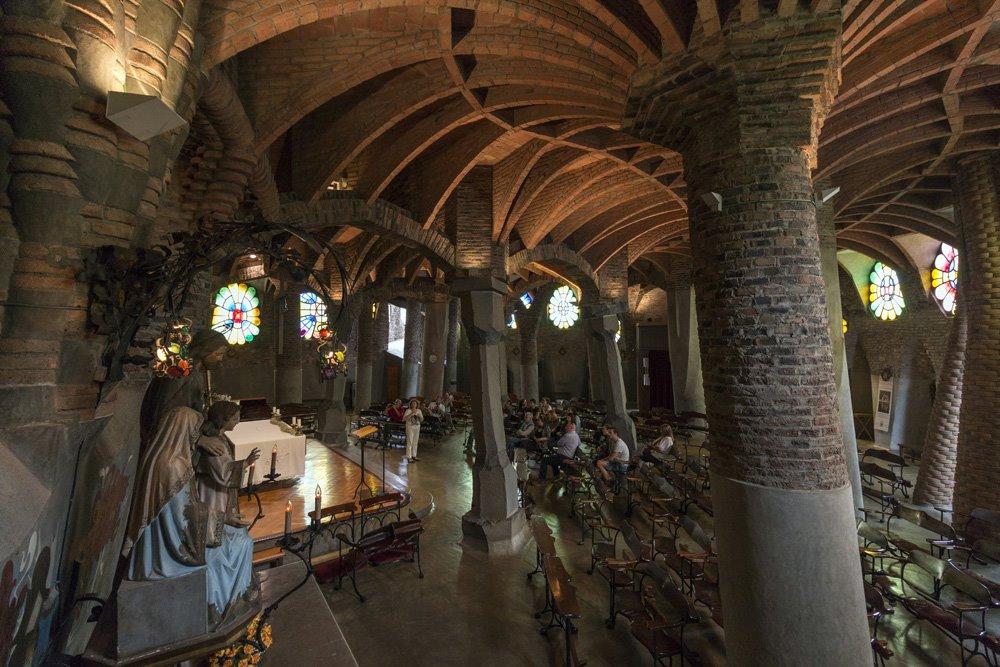 Santa Coloma de Cervelló- Baix Llobregat- Cripta Gaudí- Modernisme