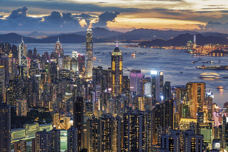 Icónicos rascacielos de Hong Kong. Un Skyline a la altura del de Nueva York