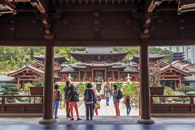 Monasterio de Chi Lin. Preserva un encanto tradicional