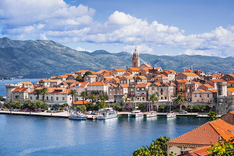 Korcula, Dubrovnik en miniatura