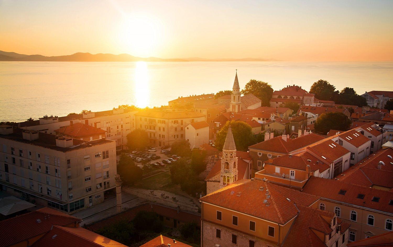 Zadar y (tal vez) la puesta de sol más bella del mundo