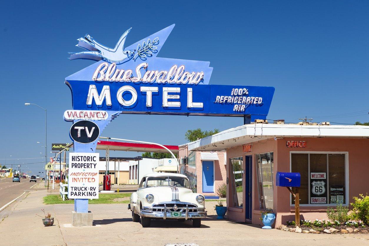 De motel en motel