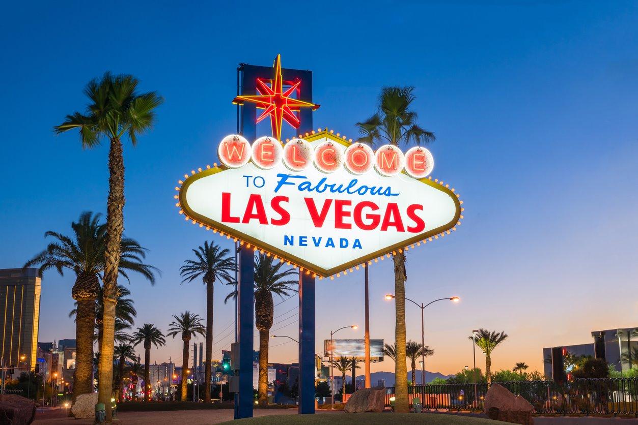iStock-614875716. Cartel de Las Vegas, EE.UU.