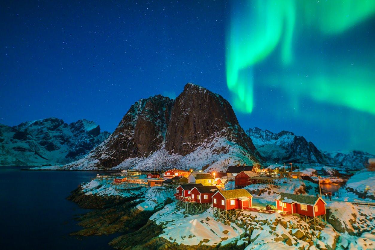 iStock-904734910. Auroras boreales