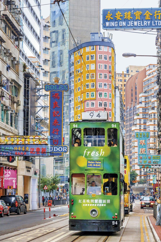 Transporte-publico-hong-kong. La excelencia del transporte público