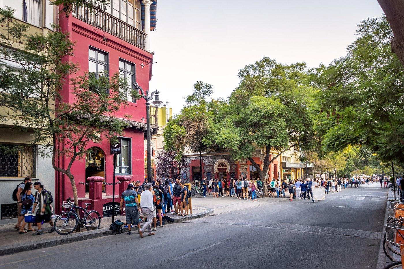 barrio-lastarria---istock2. Barrio Lastarria