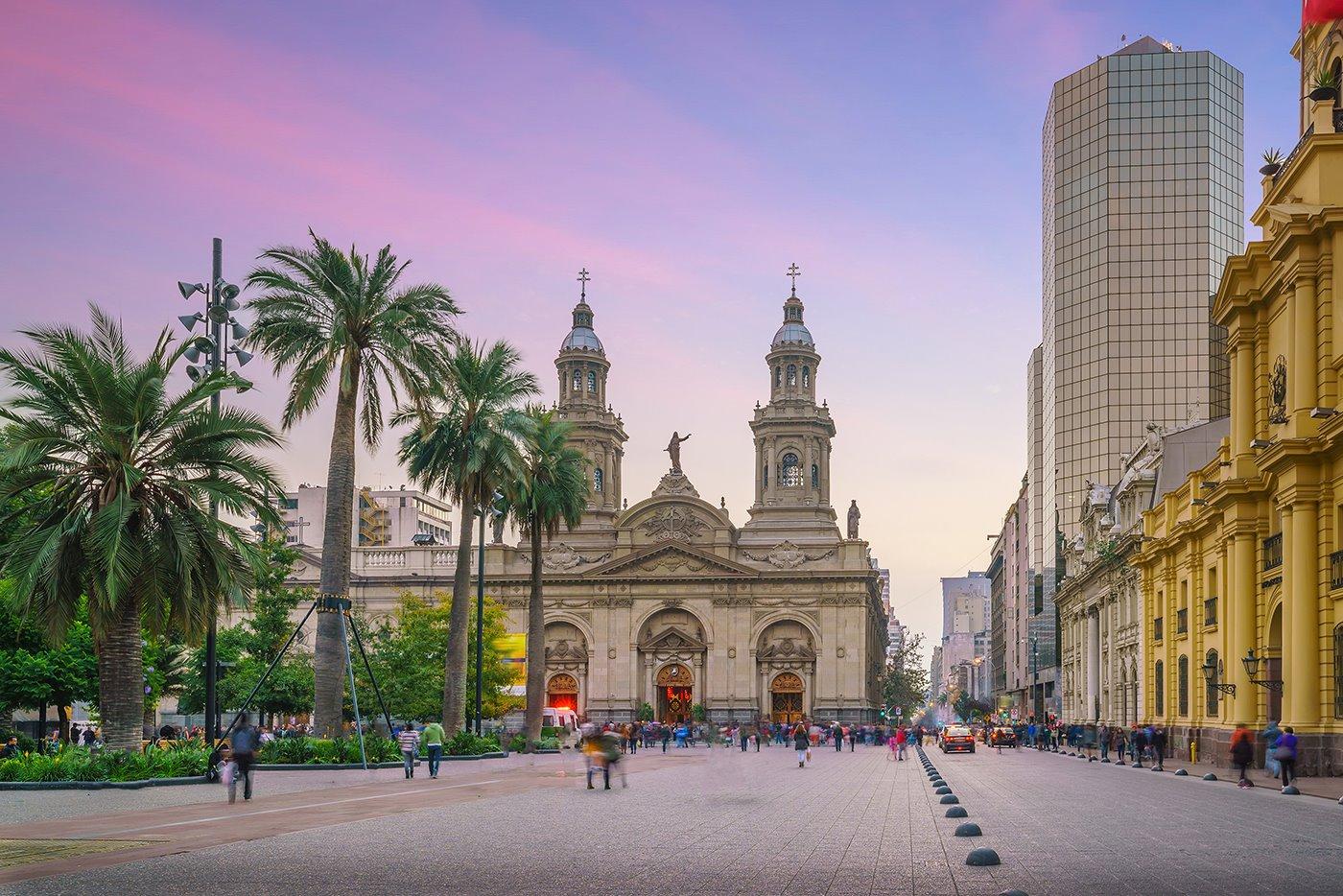plaza-de-armas-santiago-de-chile. Un paseo por el centro
