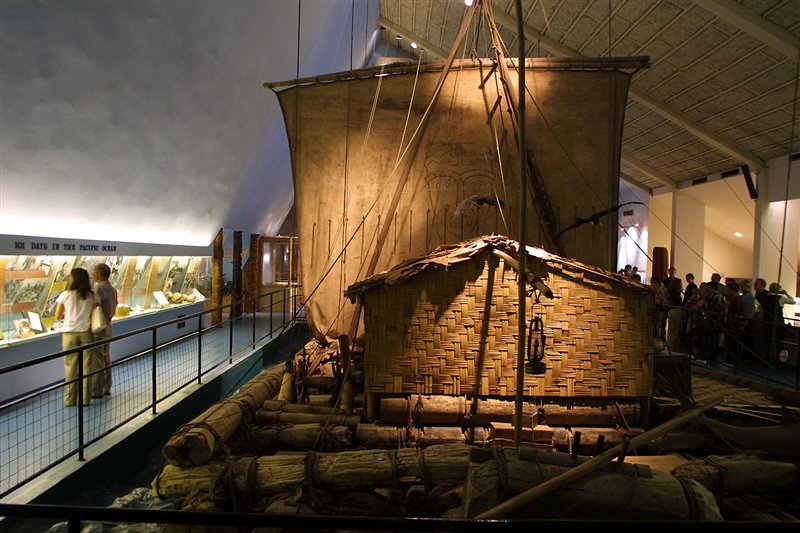 Oslo- The Kon-Tiki museum-