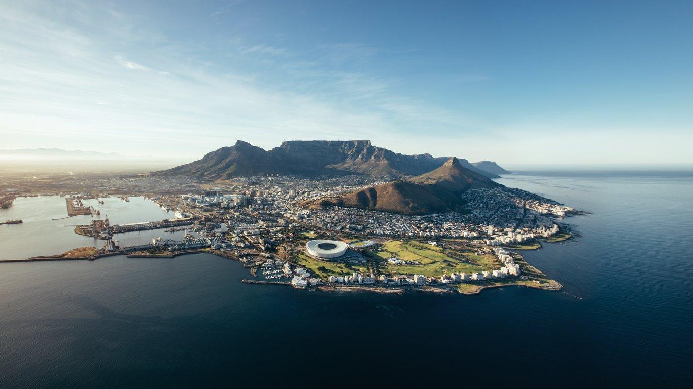 7. Ciudad del Cabo 2. Ciudad del Cabo