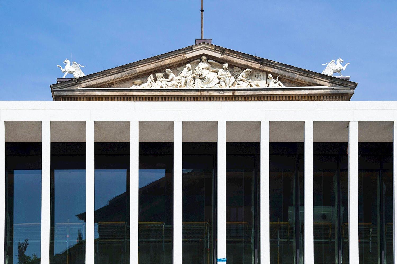 """acceso-isla-de-los-museos. Nuevo acceso a la Isla de los Museos: el """"guardarropa más caro del mundo"""""""