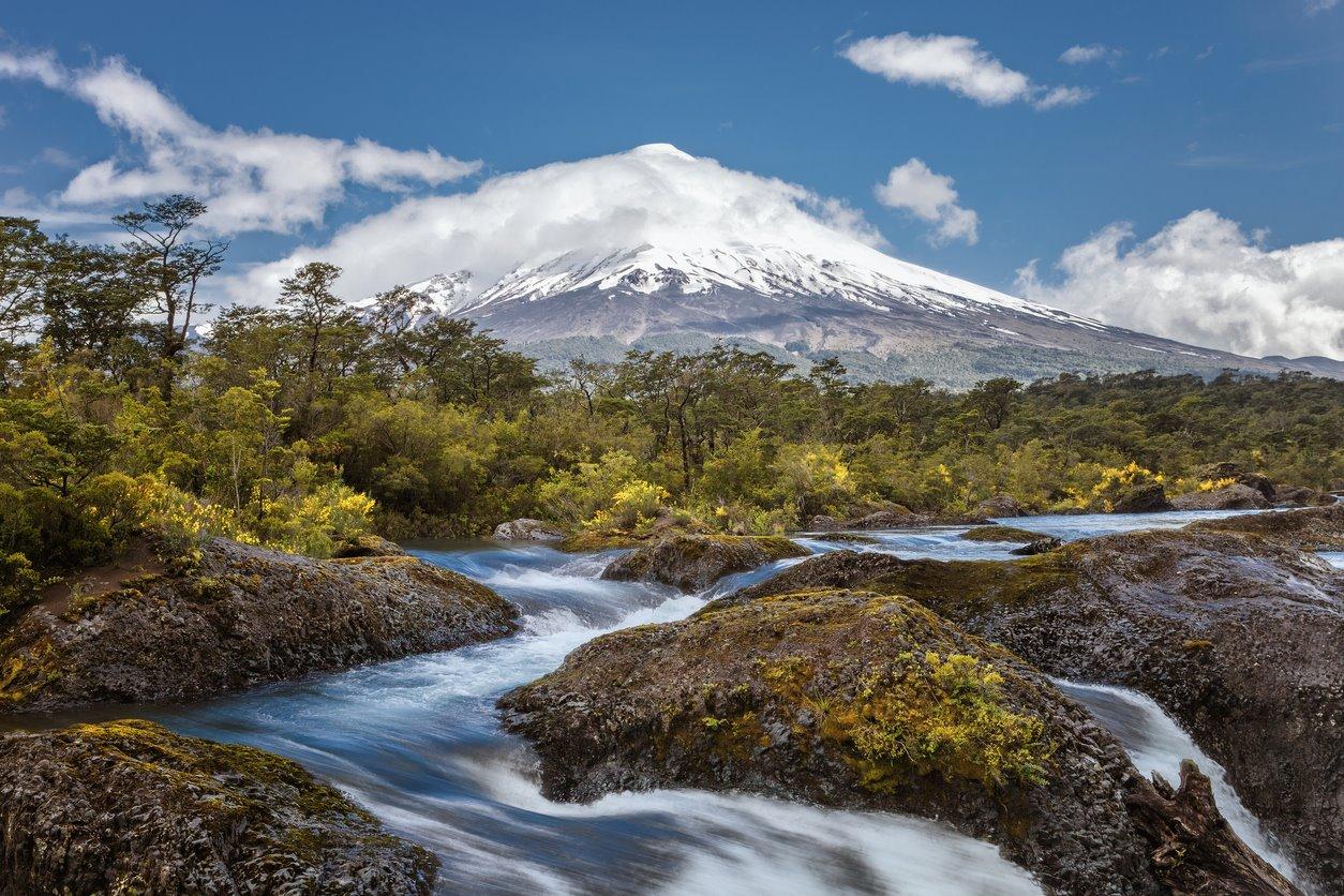 Senderismo en el volcán Osorno
