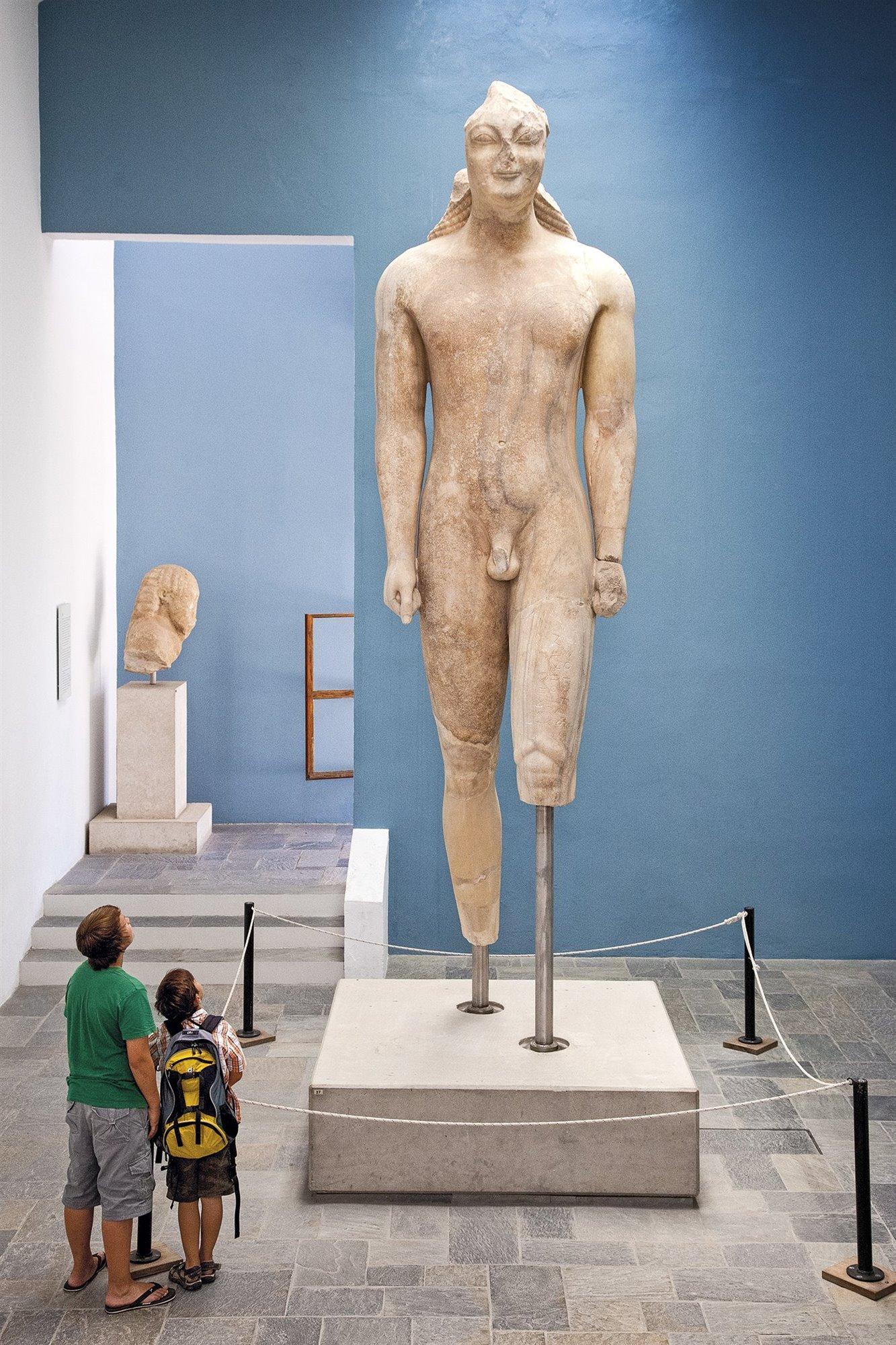 3. museo-arqueologia-samos-kouros. El imponente 'kourós'