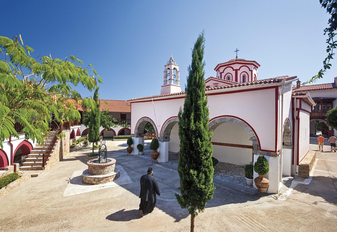 6. megalis-panagias-monasterio-samos. Arte ortodoxo