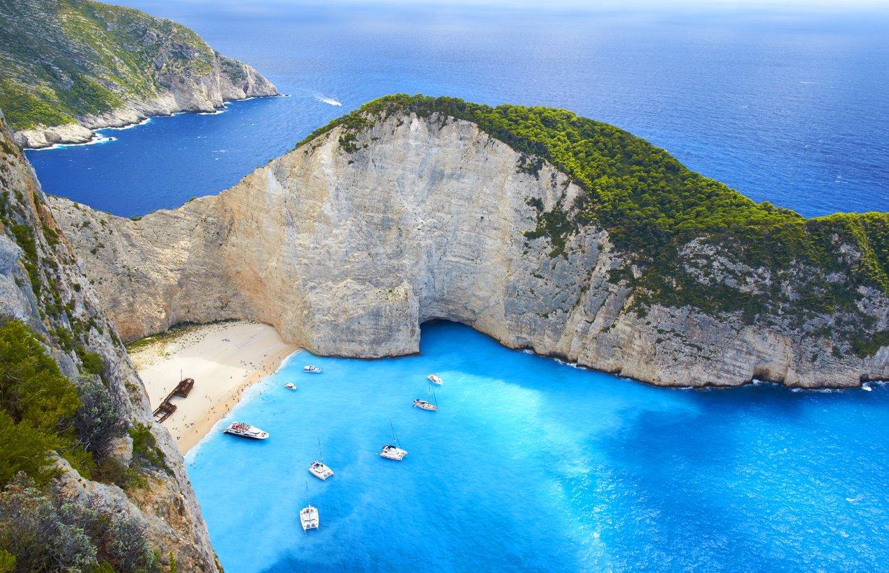 De perfume por las Islas Griegas.... Para una travesía por las Islas Griegas...