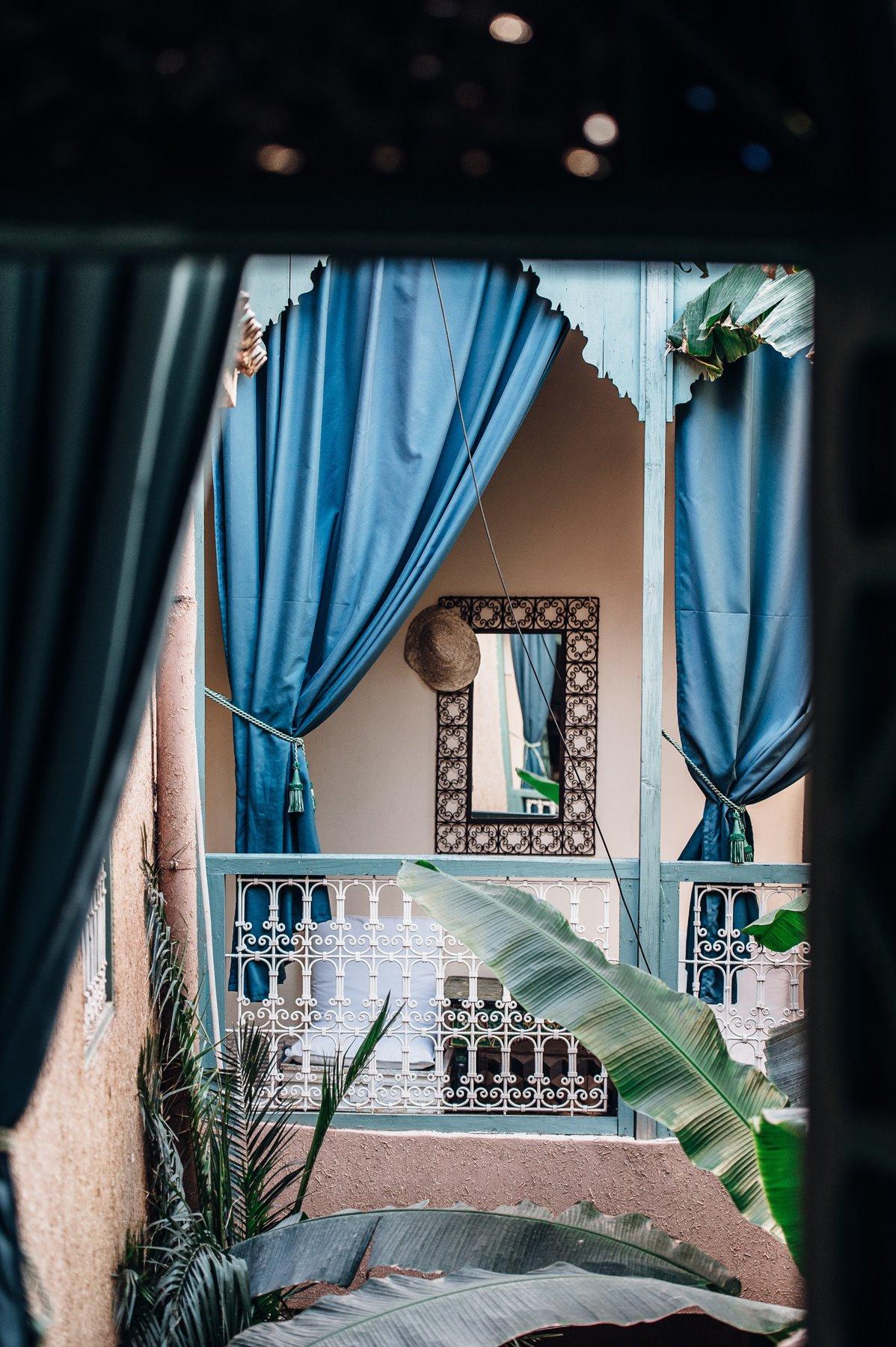 Para un retiro en Marrakech...