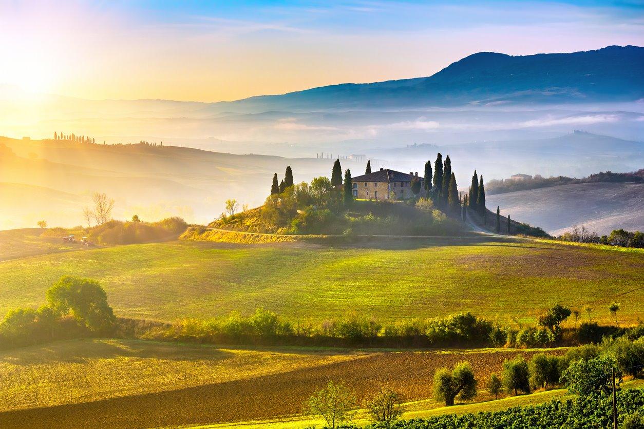Para una escapada de lujo por la Toscana...