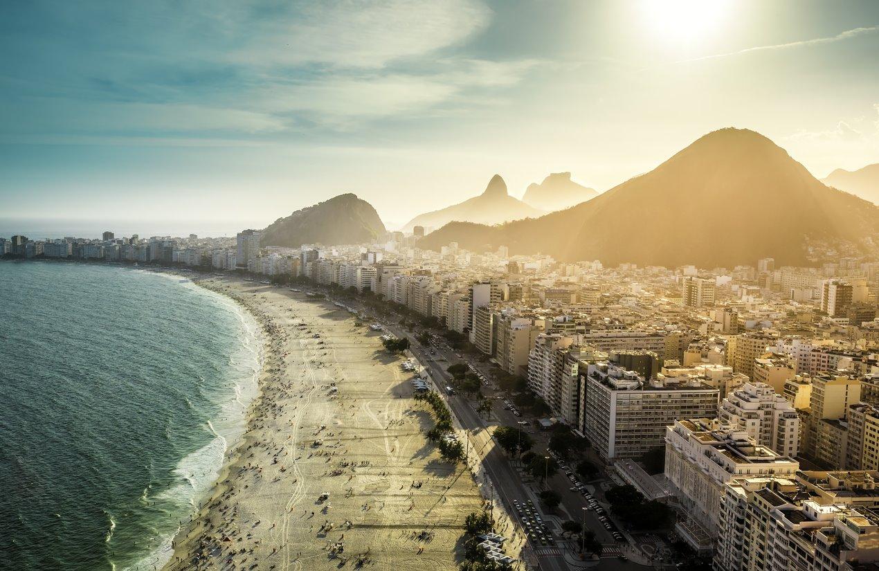 Para unas Bossa Novas en Copacabana...
