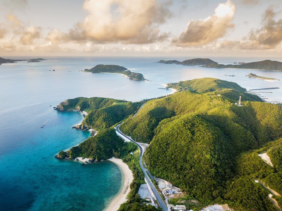 Si el plan es perderse por la isla de Zamami (Japón).... Para una expedición por la isla de Zamami (Japón)...