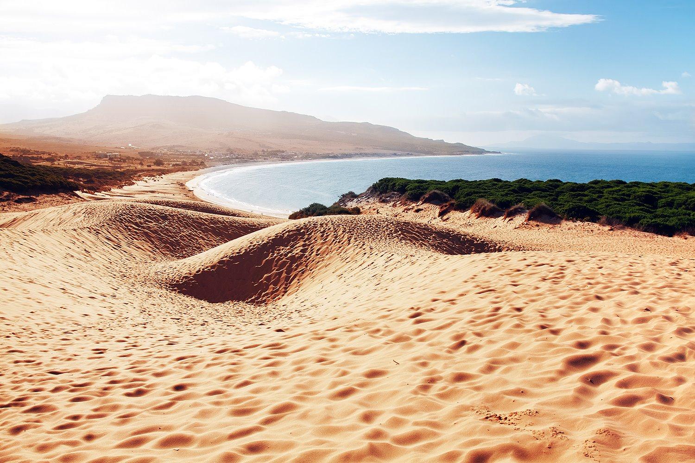 Playa de Bolonia (Tarifa). Playa de Bolonia (donde hacer la croqueta)
