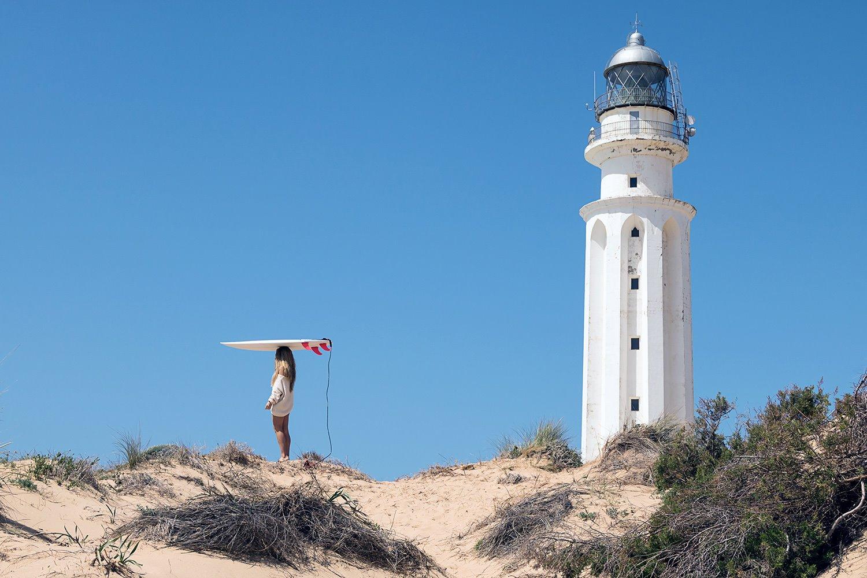 Playa del Faro de Trafalgar . Playa del Faro de Trafalgar (la más salvaje)