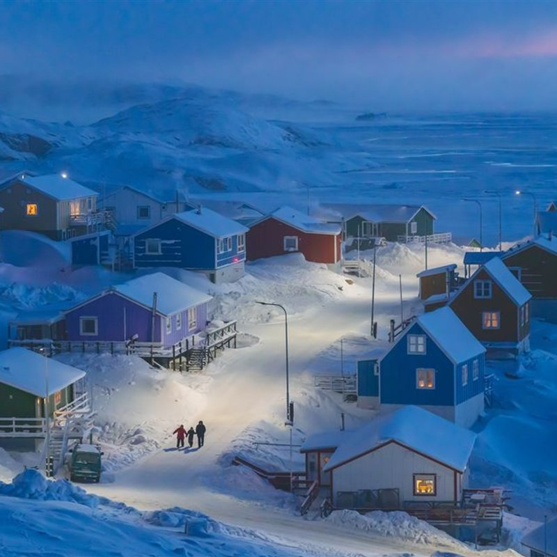 Gran premio: 'Winter in Greenland'