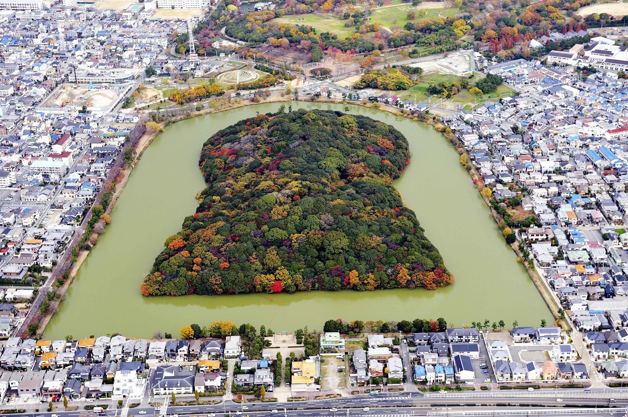 site 1593 0008. Tumbas Mozu-Furuichi  (Prefectura de Osaka, Japón)