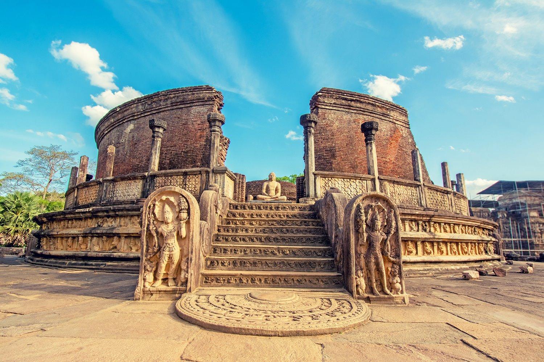 monumentos de Polonnaruwa