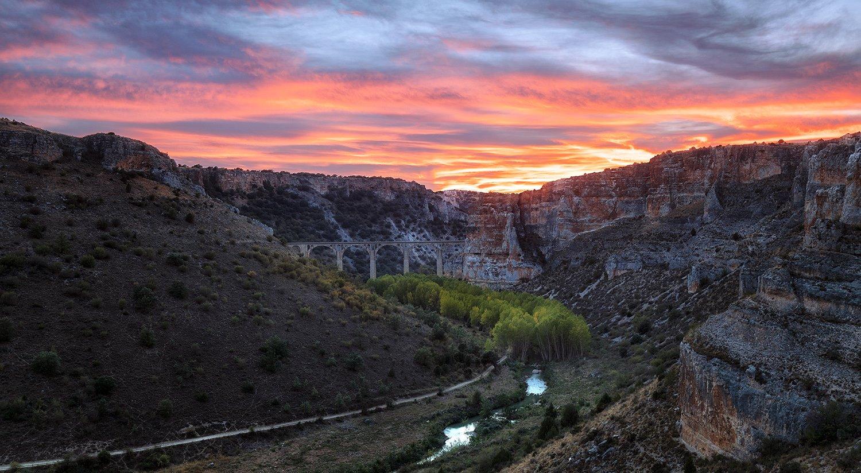 Et17cañón del Riaza en Segovia