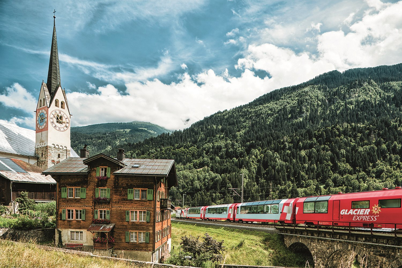 Glaciar Express-suiza